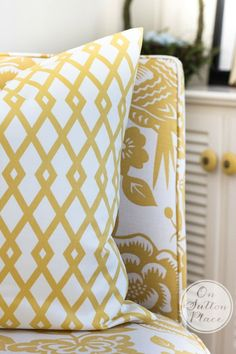 Envelope Pillow Cover Tutorial | Includes directions for french seams | from On Sutton Place