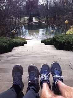 Go for a jog by the carillon in Butler's Holcomb Gardens.