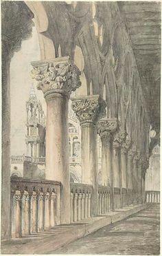J.Ruskin, Palacio Ducal de Venecia 1849/1850