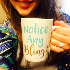 Ehi, ho trovato questa fantastica inserzione di Etsy su https://www.etsy.com/it/listing/465494663/notice-any-bling-coffee-cup-engagement