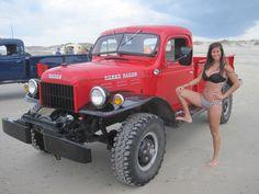 Power Wagon on the Beach #2