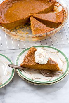 No Crust Pumpkin Pie. A crustless custard pumpkin pie that's an easy Thanksgiving dessert recipe. BoulderLocavore.com