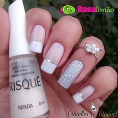 70 Eye-Catching and Fashion Acrylic Nails, Matte Nails, Glitter Nails Design You Should Try in Prom and Wedding that can help you out. We hope you like this collection. Cute Acrylic Nails, Glitter Nails, Cute Nails, Pretty Nails, Diy Beauty Nails, Diy Nails, Nail Deco, Acryl Nails, Diy Nail Designs