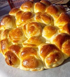 Greek Desserts, Greek Recipes, Food Network Recipes, Cooking Recipes, Pizza Pastry, Bread Dough Recipe, Food Gallery, Hot Dog Buns, Bakery