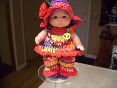 "Berenguer 5"" Baby Dolls - My Little Hippy Baby # 131"