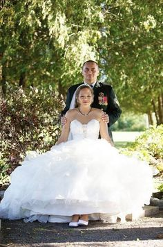 #real #allure #bride Allure Couture Style: C170 - Wedding Photography: Dimitri of DimPhoto