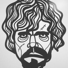 "17 Likes, 1 Comments - Sabrina Jauk (@jadiesabs) on Instagram: ""guess who... . . . #illustration  #drawing #character #face #tyrion #got #gameofthrones…"""