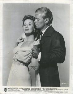 Alan Ladd & Virginia Mayo