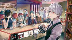 Lovely - Feral x Ken-Feral Furuta x Ken Kaneki-Tokyo Ghoul - Read Tokyo Ghoul, Tokyo Ghoul Fan Art, Ken Kaneki Tokyo Ghoul, Tokyo Ghoul Wallpapers, Juuzou Suzuya, Cute Anime Couples, Kawaii Anime, Anime Characters, Anime Art