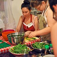 How to Throw a Canning Party  Whether canning preserves or putting up a batch of beans, preserving and canning work gets done much faster when you have many hands to help!