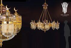 Swarovski, Decorative Lighting, Glass Chandelier, Led, Light Decorations, Luster, Lighting Design, Lamps, Moon