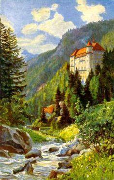 OOSTENRIJK   Unterengadin   Sent   Hotel Val Sinestra