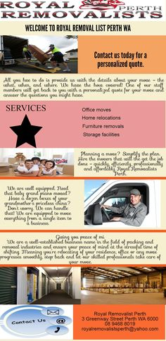 Cheapest Royal Removalist in Perth is your professional, affordable and efficient option for moving in Perth. Visit us at 3 Greenway Street Perth WA 6000 or  Call us at 894688019