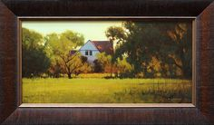 Summer Farmhouse by Kevin Courter Oil ~ 10 x 20