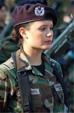 a9636bf22f4 Chilean Air Force gunner image - Females In Uniform (Lovers Group)