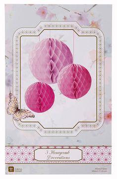 Wabenballset rosa pink bei www.party-princess.de