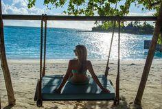 Feel the stress disappear with every swing @FourSeasons #Maldives #kudahuraa #fsmaldives - http://m.fourseasons.com/maldiveskh/