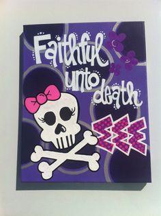 faithful unto death <3