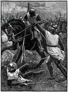 The Battle of Evesham, 4 August 1265. (c1800). Evesham marked the end of the Second Barons' War. Royalist forces led by Prince Edward (Edwar...