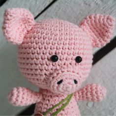 This little amigurumi pig is about 15 cm tall. It is teaching you how to make a toy with joined legs. The pig is wearing pants, but of course you can make it without any clothing at all. ALL LILLELIIS TOYS ARE ORIGINAL DESIGN. I PUT A LOT OF EFFORT IN CREATING THE CUTIES, WRITING PATTERNS, …