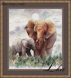 Size: 124x141 stitches. Full cross, half cross, backstitch. Colors count: 34 + 10 blended. Mouline DMC.