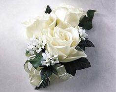 Wedding Corsage Silk Pink Rose Pin Corsage by KateSaidYes on Etsy