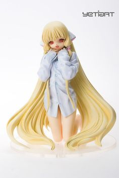 Chii Kneeling Chobits Custom Painted Resin Garage Kit Anime Model Yetiart Figure