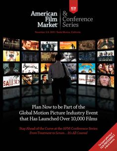 Attendance Promotion Brochure Winners  Independent Film & Television Alliance  American Film Market  Over 150,000 nsf #tradeshow #sign #design #IAEE_HQ #IAEE_AOS