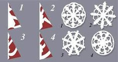 DIY Paper Medallions Miniaturized and DIY Paper Snowflakes Here To Beautify Your Holidays [Detailed Guide Template]