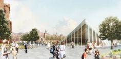 BIG Revela el plan de restauración a 20 años para Washington DC Smithsonian Campus
