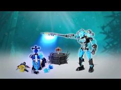 LEGO Bionicle 2015 - Gali/Protector of Water Power-Up stop motion - YouTube