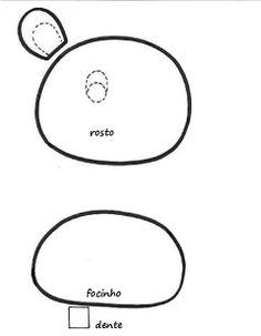 molde travesseiro bichinho hipopo 1