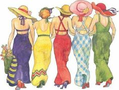 girlfriends...Sharon Lee, Christy, Sharon D, Christine Fisher, & Denise M