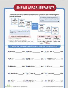dry measure conversion pinterest measurement worksheets worksheets and maths. Black Bedroom Furniture Sets. Home Design Ideas