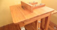 Fácil fazer uma bancada para serra circular de madeira e furadeira                                                                                                                                                                                 Mais