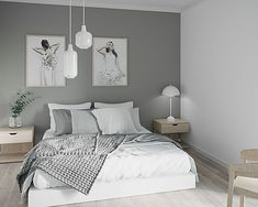 3D-visualisering | Fly By Media | Norge 3d Architectural Rendering, 3d Architectural Visualization, 3d Visualization, 3d Video, Big Project, Cozy Bedroom, Your Perfect, Scandinavian Design, Norway