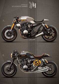 Honda CB750 RC42 by Holographic Hammer
