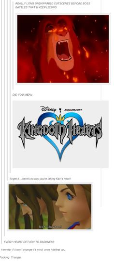 I probably watched the Kairi one 40 times between the times i have played the game.... NOOOO
