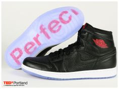 The TEDxPortland Air Jordan 1 PERFECT Men and Womens Charity Auction will  benefit the TEDxPortland scholarship fund. 5d2467cb40