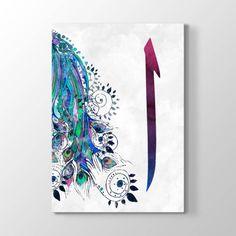 Elif Harfi Kanvas Tablosu Turkish Art, Arabic Art, Sufi, Calligraphy Art, Islamic Art, Creative Art, Persian, Art Gallery, Banner
