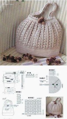 Crochet Handbag free pattern by bettush