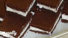 Kinder szelet Gasztrovarázslat konyhájából | Nosalty Tiramisu, Cake, Ethnic Recipes, Desserts, Food, Drink, Happy, Outfits, Kids