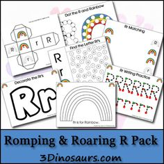 Romping & Roaring Rr Pack (from 3 Dinosaurs)