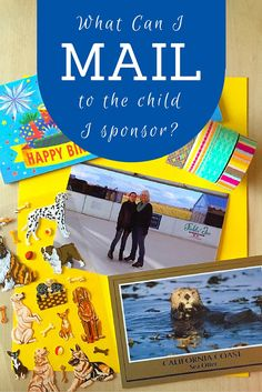 If your love language is gifts, you may want to send material items with your letters to show the child you sponsor you love them. So what can you mail?
