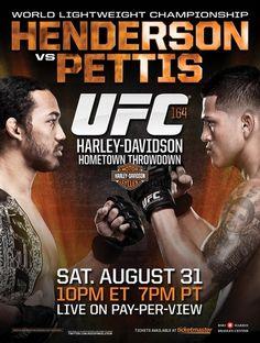 UFC 164 Henderson vs. Pettis 2 Ergebnisse - Results