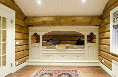 Cozy daybed in mountain cabin. Bed from Os Trekultur, with drawers under the bed that provides good storage.