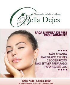 Bella Dejes: Toda a leveza e limpeza que a sua pele merece!!!