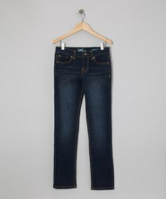 Take a look at this Cloudy Night Marlin Straight-Leg Jeans - Toddler & Girls by Lee on #zulily today!