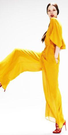 Yellow Jumpsuit #HelloYellow