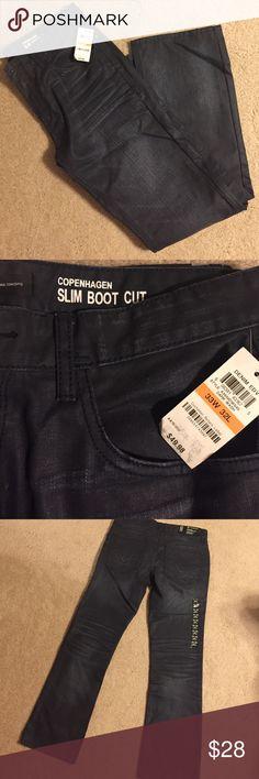 NWT - INC Men's Jeans NWT - Men's dark blue/black wash jeans. 33/32. INC International Concepts Jeans